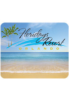 Personalized Beach Design Mouse Pads
