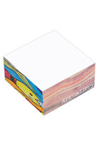 "Custom BIC Ecolutions 3"" x 3"" x 1.5"" Non-Adhesive Cube"