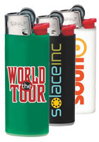 Personalized BIC J25 Mini Lighters