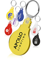 Bulk Bulb Shape Soft Key Tags