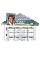 Custom Calendar House 4.69inch x 3.75inch Magnets