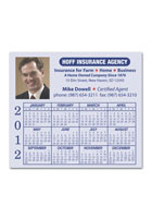 Custom Calendar Sq Crnr 3.91inch x 3.41inch Magnets