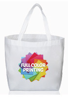 STOT90 - Sublimation Reusable Shopping Totes with Your Logo