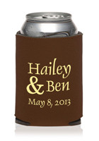 Wedding Can Cooler