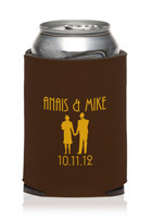 Collapsible Wedding Can Cooler #KZW52