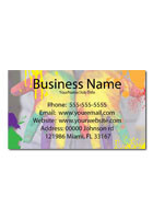 Customized Color Splatter 3.5inch x 2inch Magnets