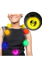 7 in. Plastic LED Ball Necklaces | WCLBN00