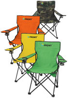 #X10033 Custom Design Folding Chairs With Carrying Bags