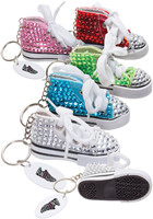 Custom Gym Shoe Bling Keytags