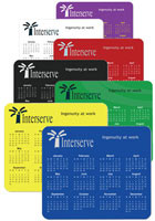 Horizontal Personalized Calendar Mouse Pads Wholesale