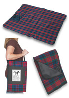 Carry Handle Plaid Picnic Blankets | X10135