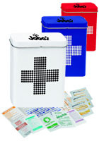 #X10931 Customized Retro First Aid Tins