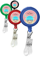 Promotional Retractable Badge Holders with Alligator Clip
