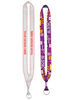 Lanyards with Metal Crimp