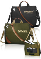 Promotional 14W x 12H Executive Messenger Bags