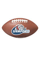 Personalized Football 4.41in x 8in Magnets