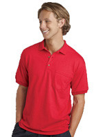 Promotional Gildan 5.6oz Ultra Pocket Sport Shirts