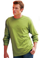 Customized Gildan 6.1oz Ultra Cotton Long Sleeve T-Shirts
