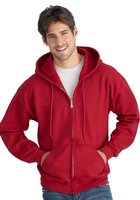 Zippered Hooded Sweatshirts