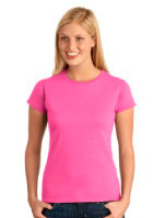 Personalized Gildan SoftStyle 4.5 oz Ladies Junior Fit Tee