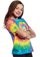 Personalized Gildan Tie-Dye 100% Cotton 5.3 oz Youth Ripple Tee