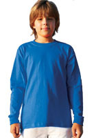 Promotional Gildan Ultra Cotton Youth Long Sleeve T-shirts