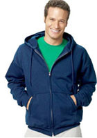 Customized Hanes 7.8 oz ComfortBlend Eco Smart Full-Zip Hood