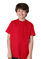 #5450 Hanes Promotional TAGLESS Youth Tees