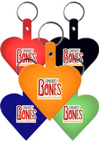 Heart Flexible Key Tags | EM522