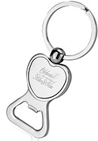 Wholesale Heart-shaped Bottle Opener Keychain