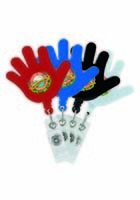 Promotional Hi-Five Retractable Badge Holders