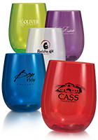 Customized Imprinted 12 oz. Vinello Stemless Wine Glasses
