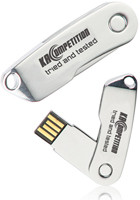 Promotional 4GB Knife Shape Swivel USB Flash Drives