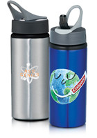 #LE162182 20oz Laguna Custom Aluminum Water Bottles