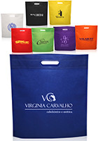 Custom 15 W x 16 H Large Heat Sealed Exhibition Totes