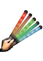 LED Light Up Glow Patrol Wands | WCLIT10