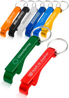 KEY06 - Personalized Logo Bottle Opener Metal Keychains at Wholesale Prices