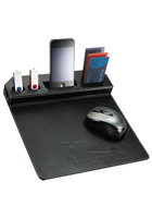 Personalized Metropolitan Mouse Pad With Phone Holders
