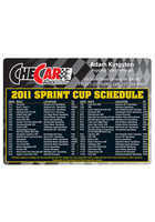 Personalized NASCAR Sprint Cup 4.13in x 5.75in Magnets