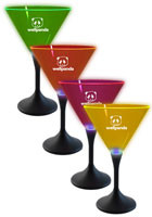 Bulk Neon Style LED Martini Glasses