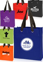 Customized 13 W x 15 H Non-Woven Grommet Tote