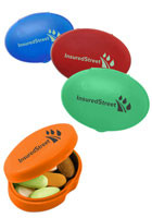Customized Oval Pill Boxes