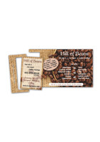 Personalized Printed Perforated Postcard 3.5inch x 7.5inch Magnets
