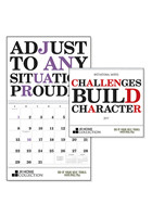 #X11292 Personalized Motivational Words Calendars