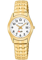 Promotional Pulsar Ladies Expansion Water Resistant Watches