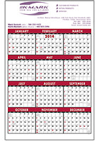 #X11425 Personalized Single Sheet Span-a-Year Standard Year Triumph� Calendars