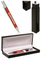 Dursley Wood/Silver Pens Gift Set | PGSMP203
