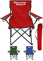 Customized Picnic Time Portable Folding Chairs