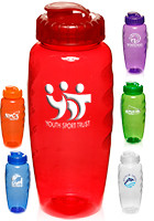 Personalized 30 Oz. Plastic Gripper Water Bottles