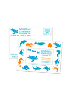 Custom Postcard SuperSeal 4 1/8inch x 5 5/8inch Magnets
